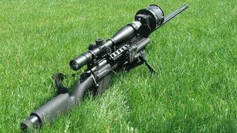 Sniper Rifle Wallpaper Hd 222393