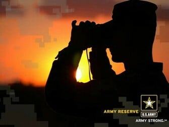 Army Reserves Sunset Wallpaper