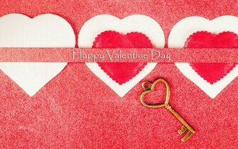 Happy Valentines Day Love Heart Key Wallpaper   New HD Wallpapers