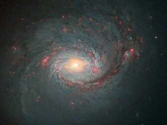Messier 77 Hubble Space Telescope Space Wallpaper