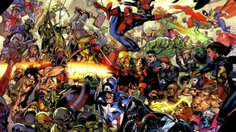 Cool screensavers site Marvel screensaver superheroes wallpaper