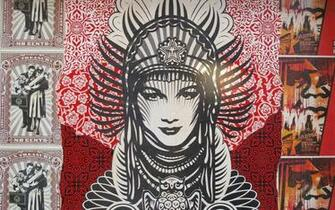 Graffiti Obey 19201200 Wallpaper 806449