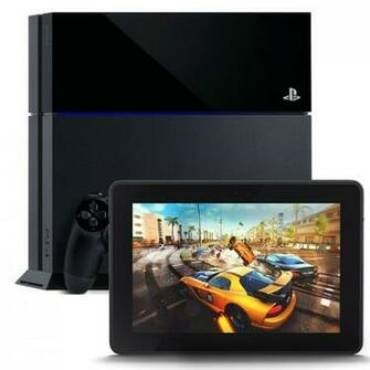 PlayStation 4 and Kindle Fire HDX 7 HDX Display Wi Fi 16 GB