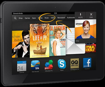 Kindle Fire HDX With Slip Lease   Holiday 2014River House Reef