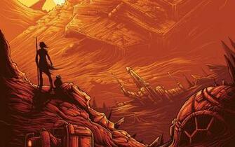 Rey BB 8 Star Wars Wallpapers HD Wallpapers