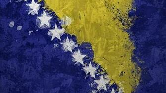 2 Flag Of Bosnia HD Wallpapers Background Images