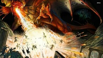 Dungeons Dragons Papis de Parede Plano de Fundo rea de Trabalho