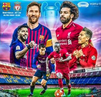 FC BARCELONA   LIVERPOOL CHAMPIONS LEAGUE 2019 by jafarjeef on