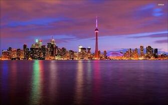 Toronto skyline wallpaper   World wallpapers   19807