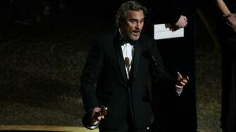 Joaquin Phoenix Pleads for Animal Rights in Academy Awards Speech
