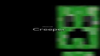 Minecraft Cool Wallpapers Creeper Creeper Minecraft Cool