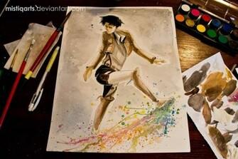 Levi Kick Fabulous Wallpaper by Mistiqarts