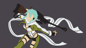 request sao ggo sinon by krukmeister fan art wallpaper movies tv