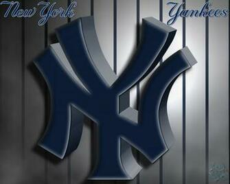 New York Yankees 3D Logo Wallpaper Download Wallpaper
