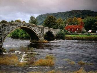 Wales United Kingdom   Bridges Roads Photography Desktop Wallpapers