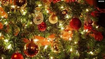 YouWall   Christmas Tree Decorations Wallpaper   wallpaper