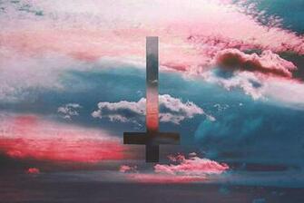upside down cross Tumblr
