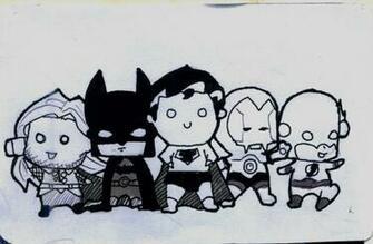 Cute Superheroes Wallpaper Superheroes by cute aholic