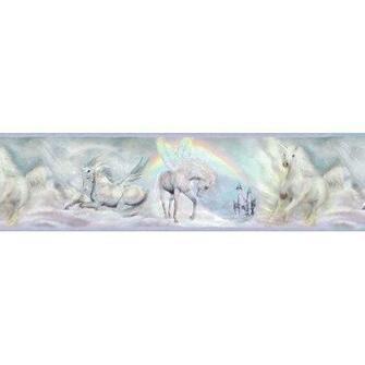 Chesapeake Farewell Unicorn Dreams Portrait Wildlife Wallpaper Border