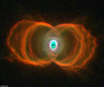 Hourglass Nebula Eye of God