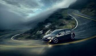 vw golf 6 gti wallpaper volkswagen cars wallpaper 1024 600 widescreen