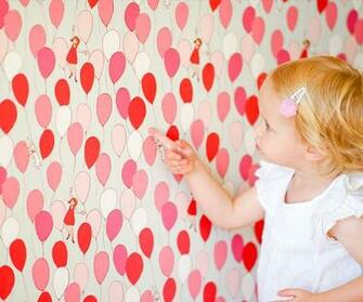 Balloons Removable Wallpaper by Pop Lolli   RosenberryRoomscom