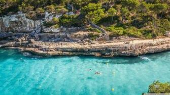 Cala Llombards Mallorca 4K HD Desktop Wallpaper for 4K Ultra