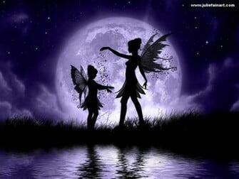 Fairy Wallpaper Background FairySisters by JulieFain1024jpg