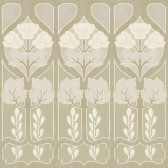 allen roth 20 12 Pearl Large Trellis Prepasted Wallpaper Border