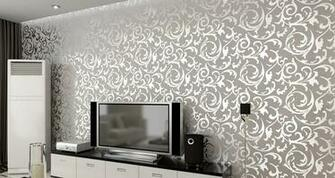 China Fashionable PVC Wall Paper 53CMX100CM Wallpaper for living room