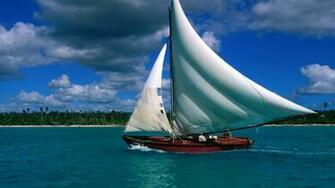 1920x1080 Sailing ship desktop PC and Mac wallpaper