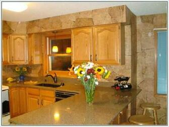 Traditional contemporary and country designer kitchen wallpaper