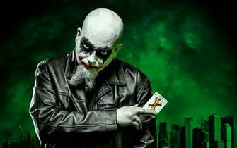 Joker dark self portrait batman clown evil wallpaper 2560x1600