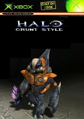 Get UNSC LOGO HALO 4 GRUNT DISTRESSED LOOK T Shirts Hoodies