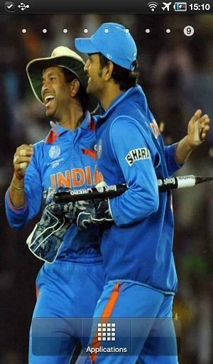 Indian Cricket Live Wallpaper This app contains various images of