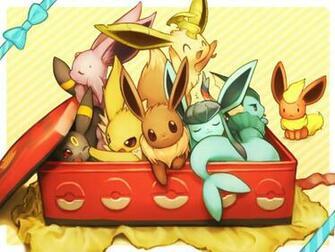 Pokemon eevee espeon flareon fuchisa glaceon jolteon leafeon