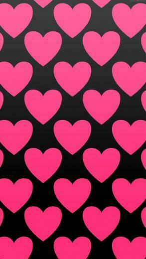Black And Pink Heart Wallpapers The Art Mad Wallpapers