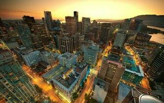 Vancouver Sunset Canada Wallpapers HD Wallpapers