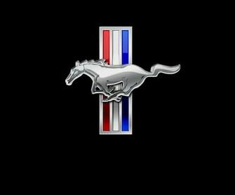 Ford Mustang Logo Wallpaper ford mustang