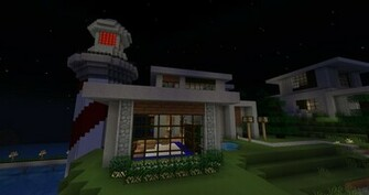 Cool Minecraft Houses minecraft house HD wallpapers