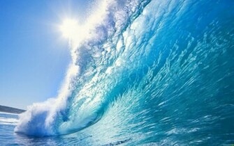 1680x1050 Beautiful ocean wave desktop PC and Mac wallpaper