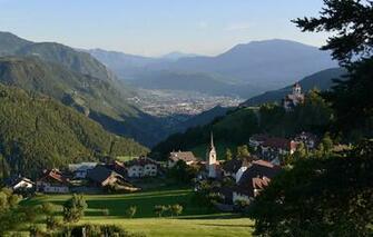 Wallpaper mountains Alps Italy The Dolomites Bolzano South