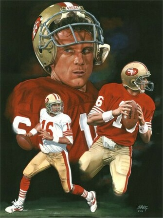 Joe Montana by ED LLOYD