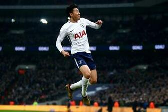 WATCH Son Heung Min scores one creates one as Spurs lead Everton