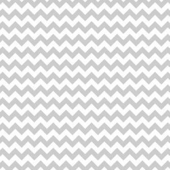 Grey and White Chevron