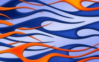 flames blue wallpaper image jbensch orange widescreen
