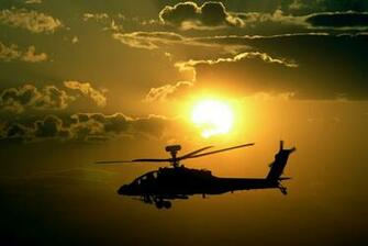 Apache Helicopters Sunset HD Wallpapers Download Wallpapers in HD