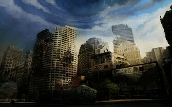 Destroyed City Wallpaper Destroyed City Wallpaper