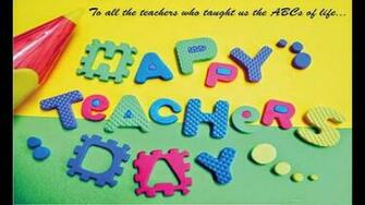 Happy Teachers Day Greeting Wallpaperhappy Teachers   World