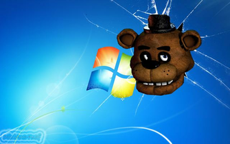 FNAF WALLPAPER Freddy Head Windows 7 by MiniAna Fnaf
